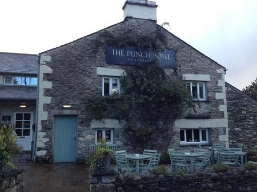 Accessible restaurant - The Punch Bowl Lake District