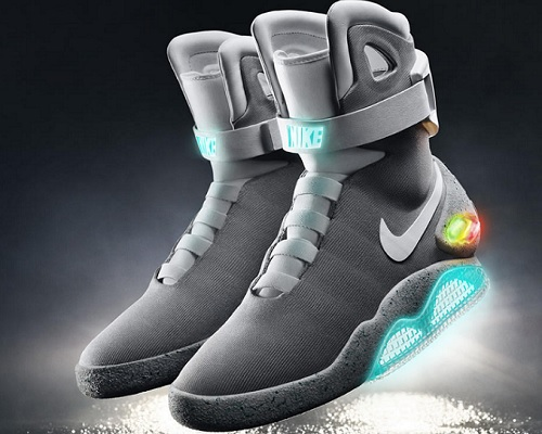 Assistive Technology Nike Air MAG self-lacing shoes