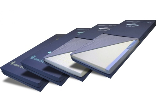 Nexus DMS pressure care mattresses, from low to high risk