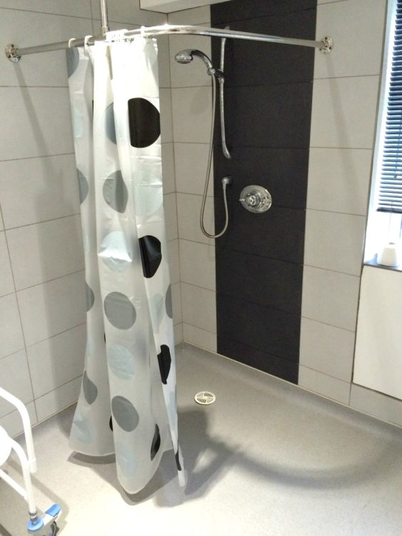 Accessible Shower in Hannahs