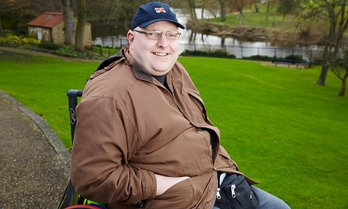 Disabled activist Doug Paulley