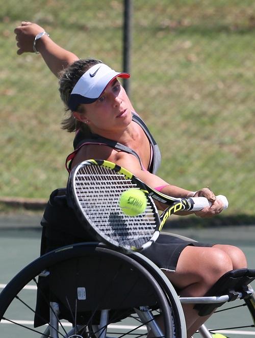 Wheelchair tennis Paralympian Lucy Shuker