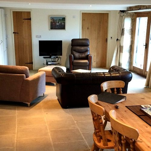Accessible holiday accommodation at Lane End Farm in Derbyshire