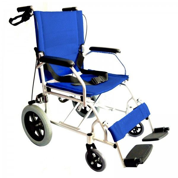 Lightweight folding compact wheelchair EC1863 10kg