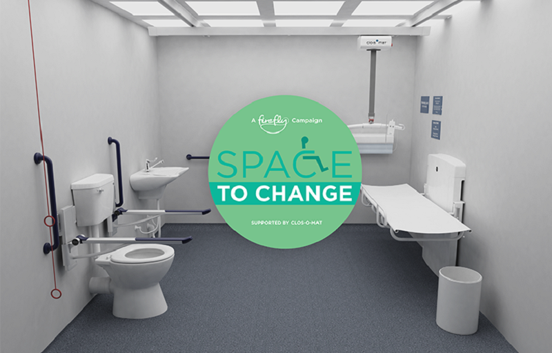 Space to Change disabled toilet