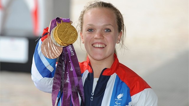 Ellie Simmonds medals