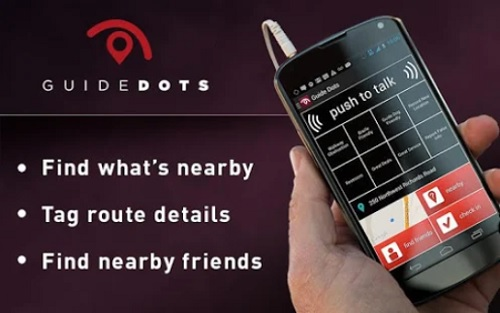 Guide Dots navigation app