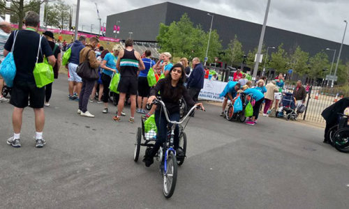 Parallel London: how I smashed the 10k challenge on a tricycle