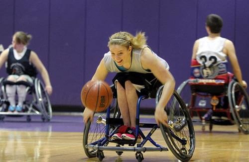 Paralympian Rose Hollermann