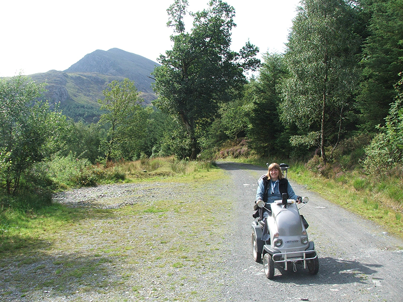 Accessible route Snowdonia