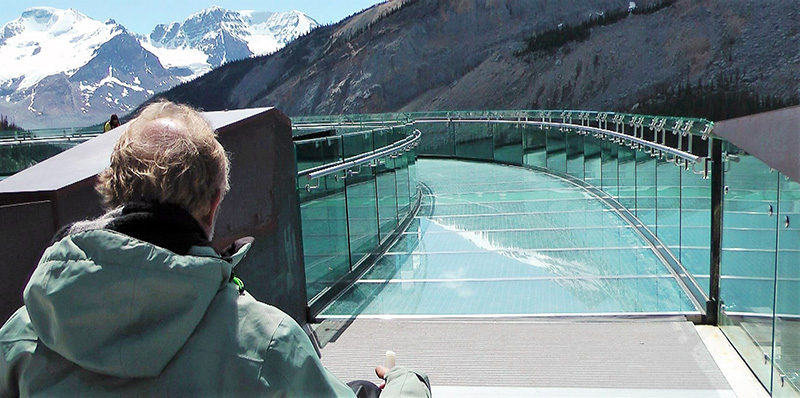Jasper Skywalk disabled access