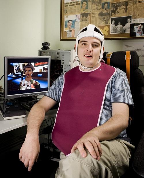 Simon Stevens disability rights activist