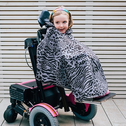 Willow Bug wheelchair cape