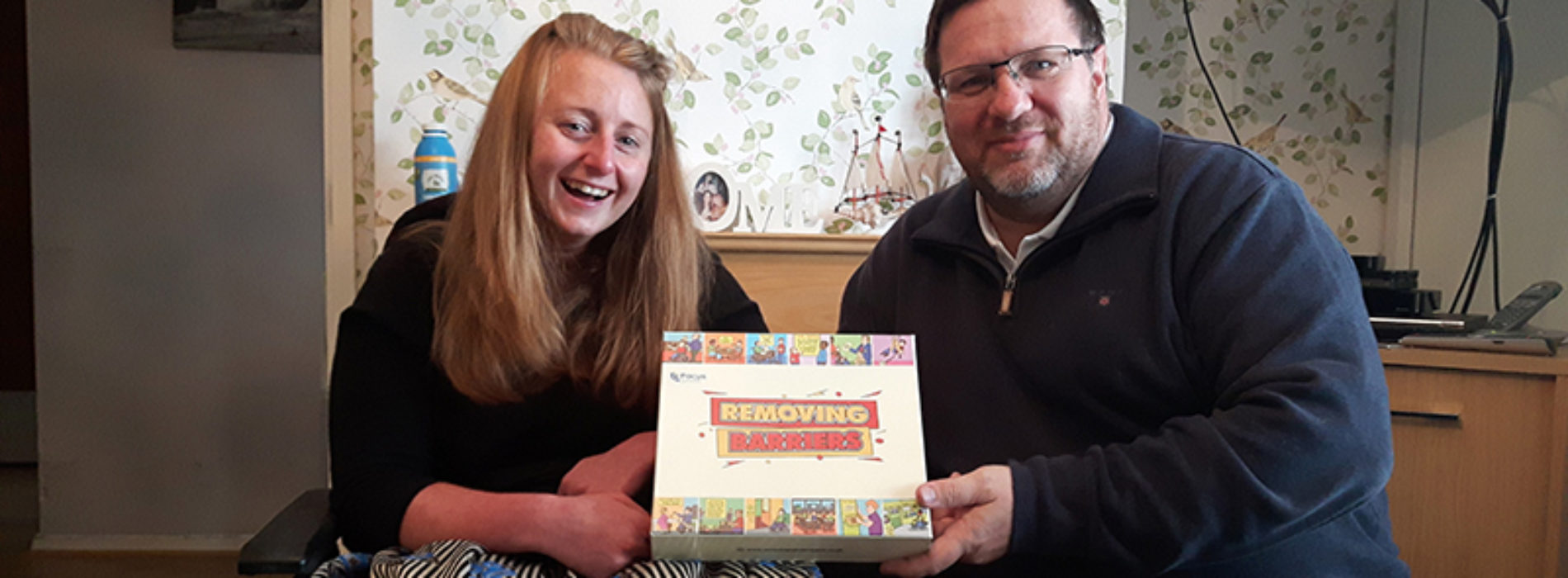 Removing Barriers: the board game that educates about disabling barriers
