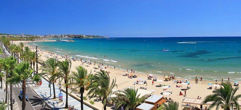 Beach in Salou Spain