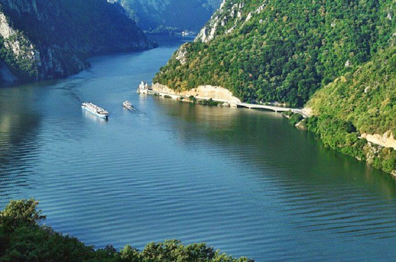 Danube river Romania