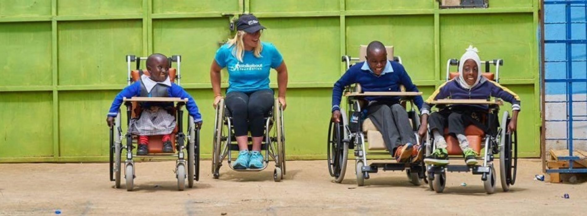 How one wheelchair-racing athlete is using her notoriety to give back