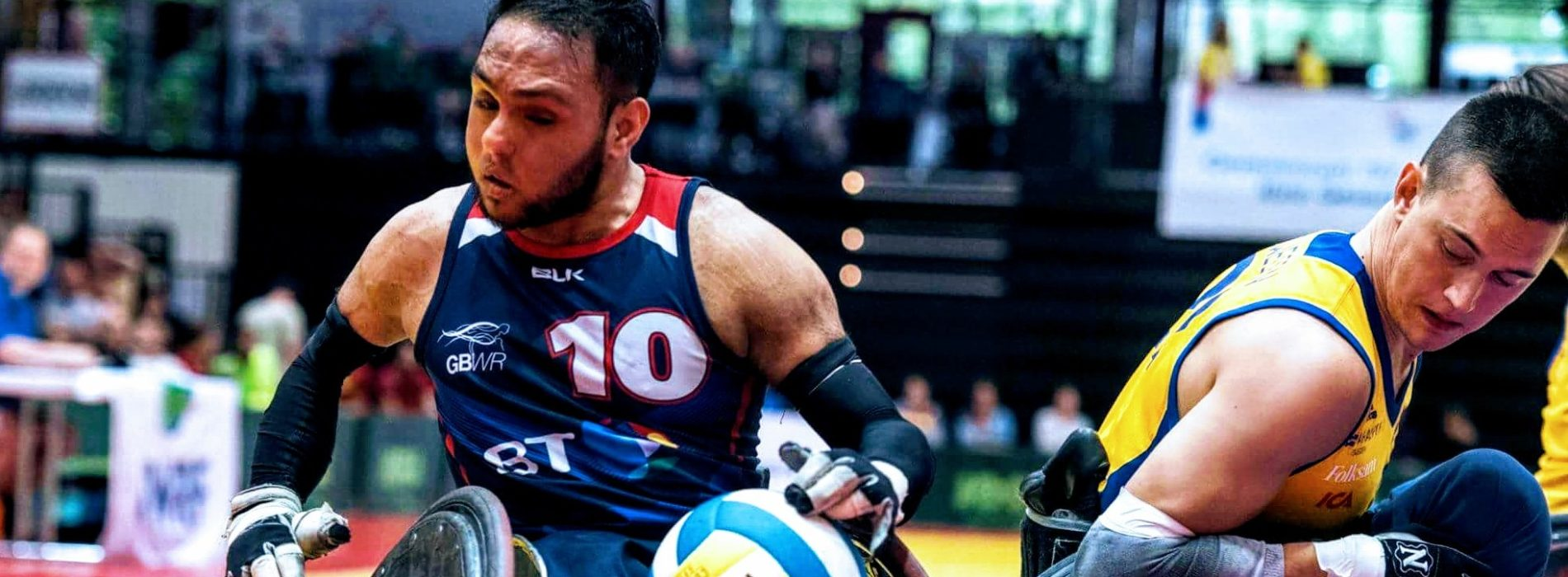 What does a Paralympic wheelchair rugby player do when funding stops?