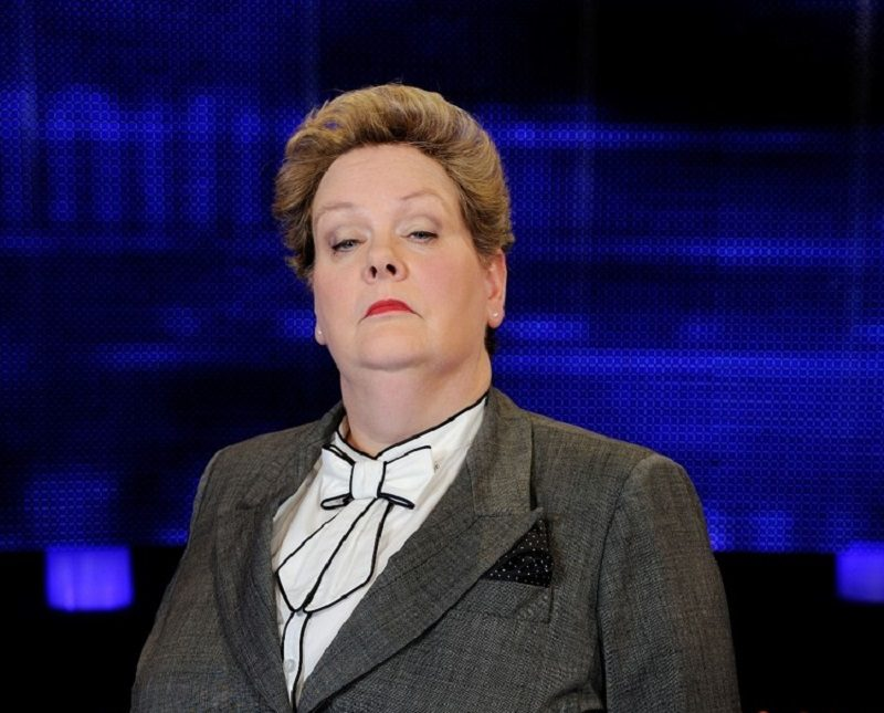 Disabled celebrity Anne Hegerty