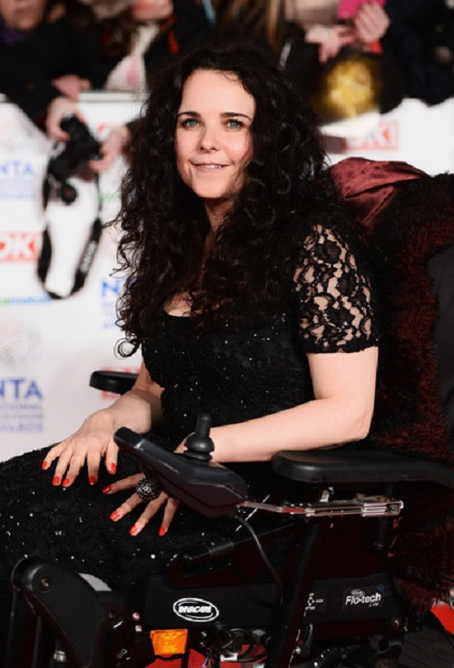 Disabled celebrity Cherylee Houston