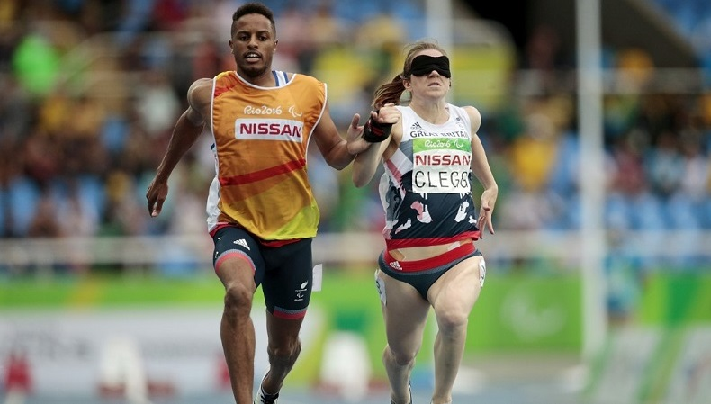 Disabled celebrity Libby Clegg