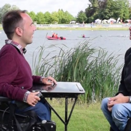 Superhero Tri Series: interview with Paralympian David Weir