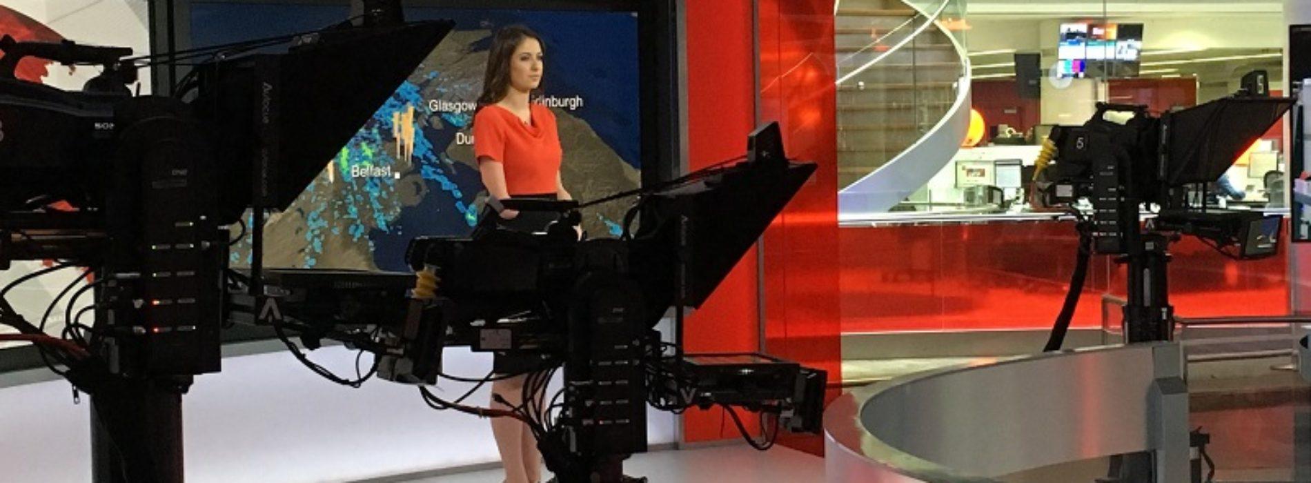 We speak to disabled BBC weather presenter Lucy Martin