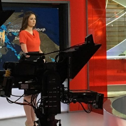 We speak to disabled BBC weather presenter Lucy Martin