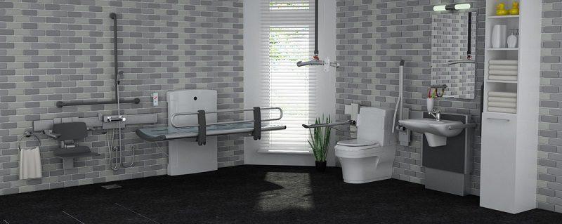 Closomat adapted bathroom