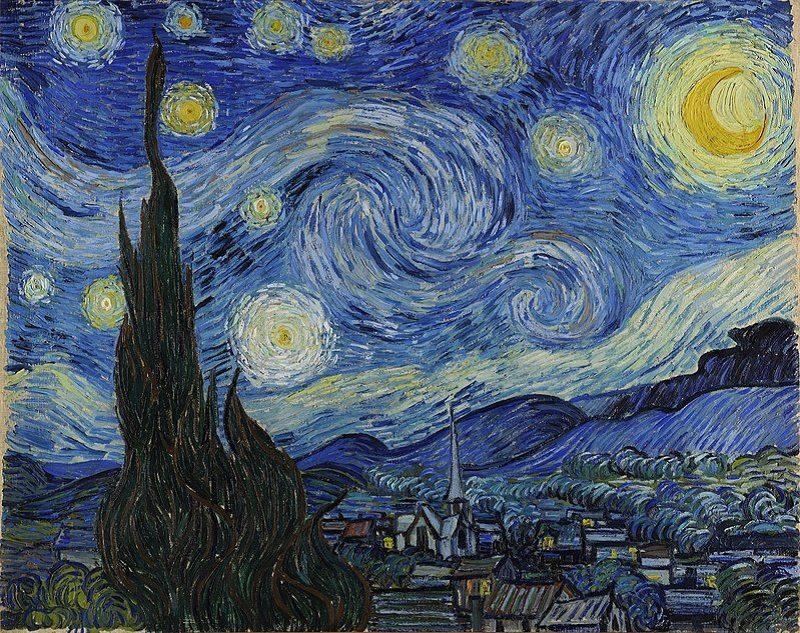 Van Gogh's painting Starry Night