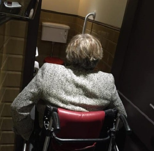 Cafe Murano disabled toilet in Covent Garden