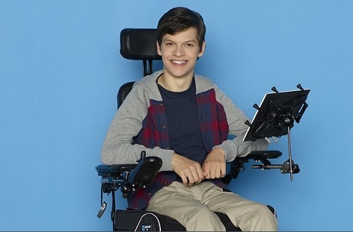 Actor with cerebral palsay Micah Fowler