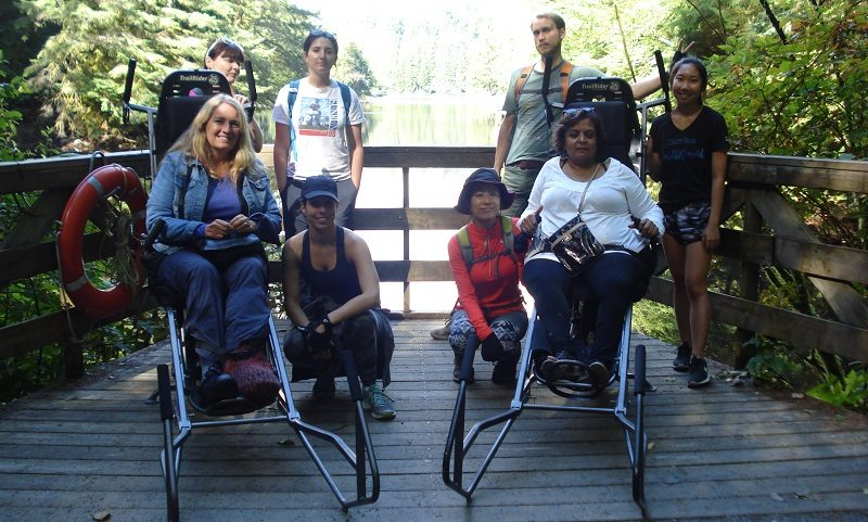 Tabassum on accessible holiday