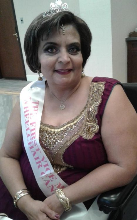 Tabassum in the Wheelchair Pageant