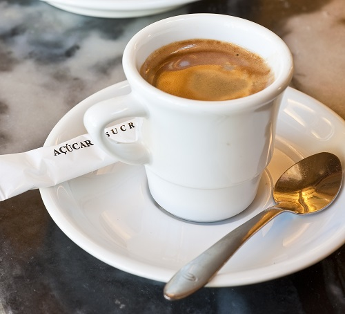 Bica coffee in Lisbon
