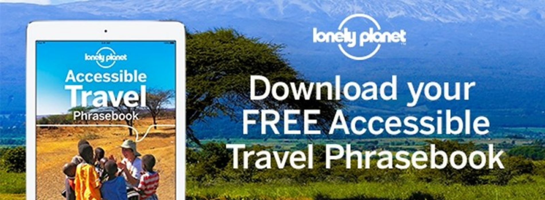 Explore the world with Lonely Planet's Accessible Travel Phrasebook