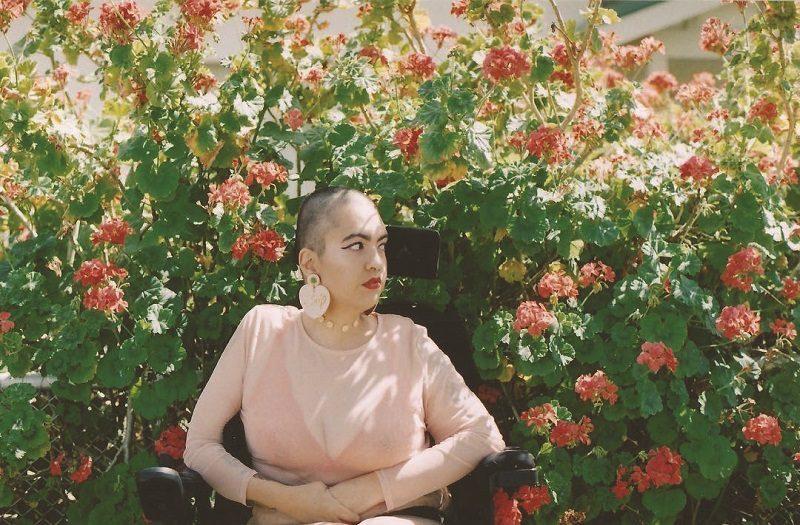 Wheelchair user Ruby Allegra