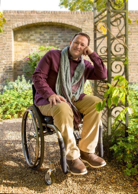 Mark Lane, Gardeners' World disabled presenter