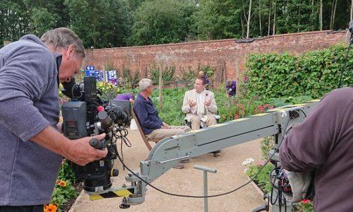 Mark Lane: Gardeners' World's first presenter in a wheelchair