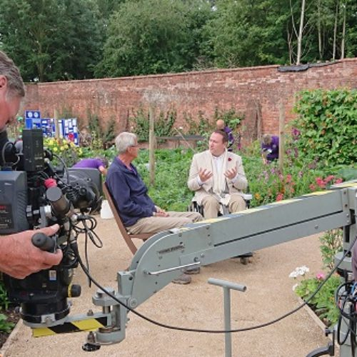 Mark Lane: Gardeners' World's first presenter in a wheelchair