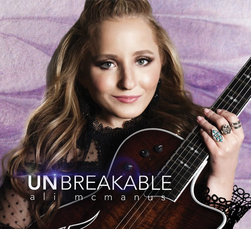 Disabled musician Ali McManus Unbreakable album cover