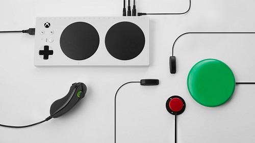 Adaptive Xbox game controller