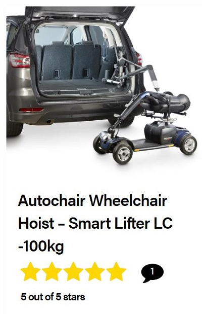Autochair Smart Lifter LC wheelchair hoist review
