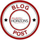 Disability Horizons blog post logo
