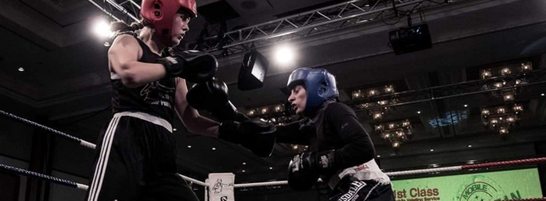 How a visually impaired boxer with muscle weakness is knocking down barriers
