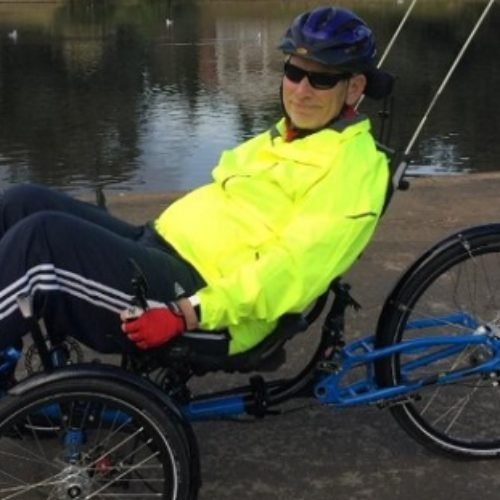 How cycling helped Nick rediscover who he was after a stroke