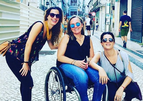 Portugal 4all Senses in Portaugal with wheelchair user
