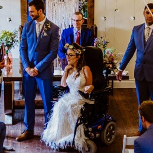 Planning my stylish, magical and totally accessible wedding