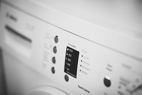 washing machine LCD display
