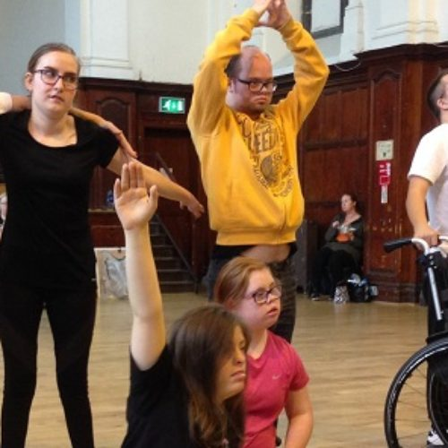 Getting into the arts – no matter what your disability